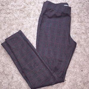 "NWOT Grey Plaid ""skater"" Pants"